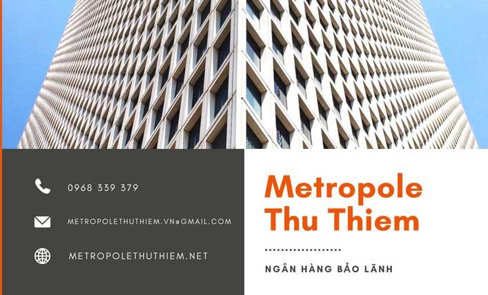 Ngân hàng liên kết của Metropole Thủ Thiêm