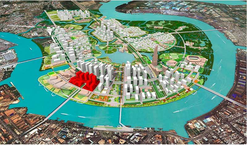 Vị trí dự án Metropole Thủ Thiêm Quận 2 nằm ở đâu?