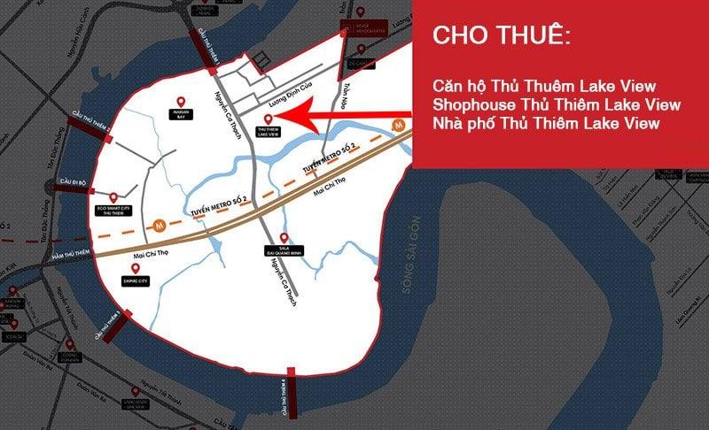 Cho thuê shophouse Thủ Thiêm Lake View
