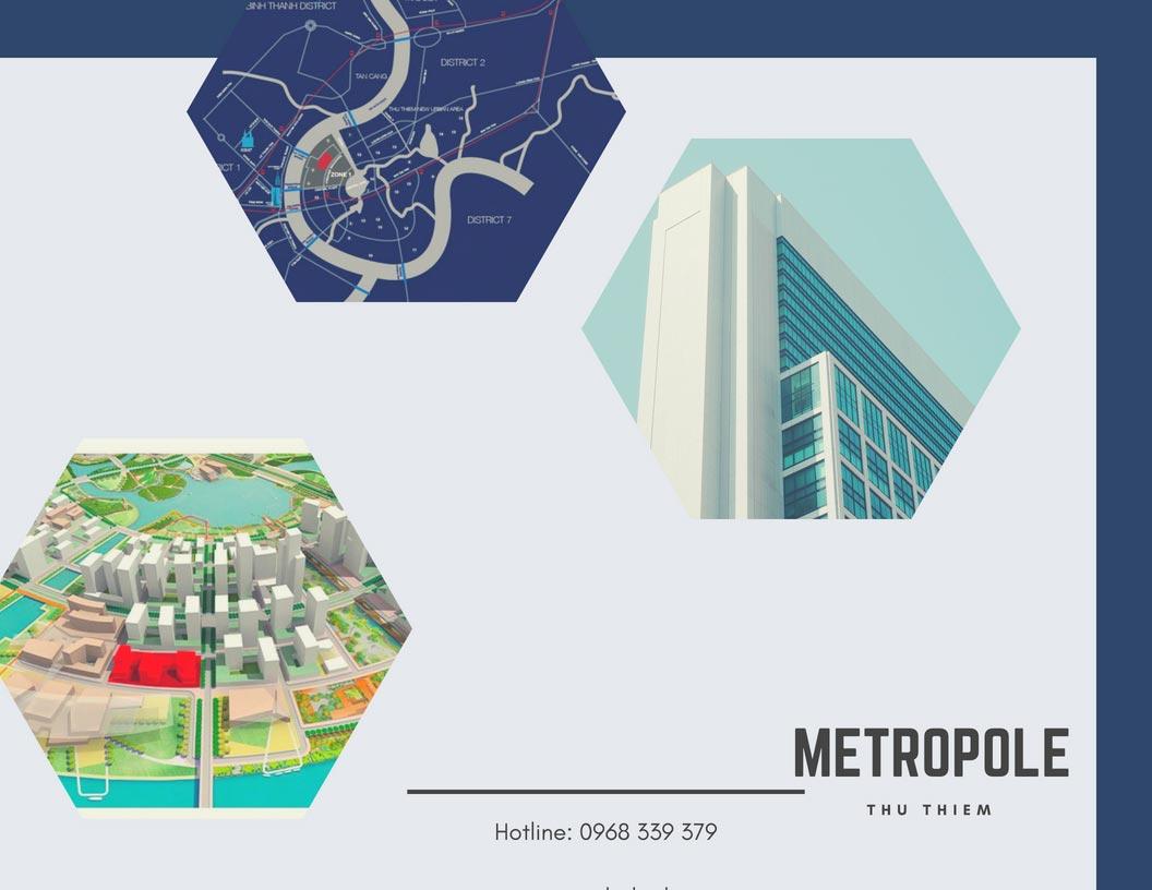 Căn hộ The Metropole Thủ Thiêm cho thuê 1 2 3 phòng ngủ