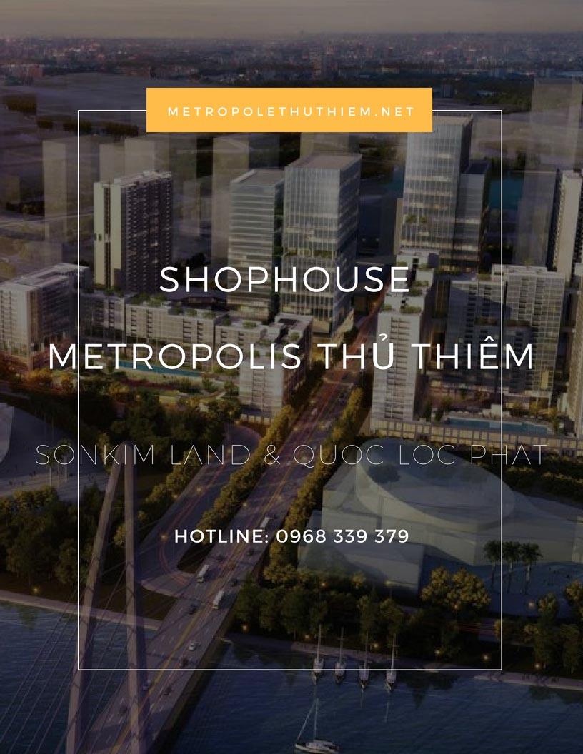 Bán Shophouse Metropolis Thủ Thiêm