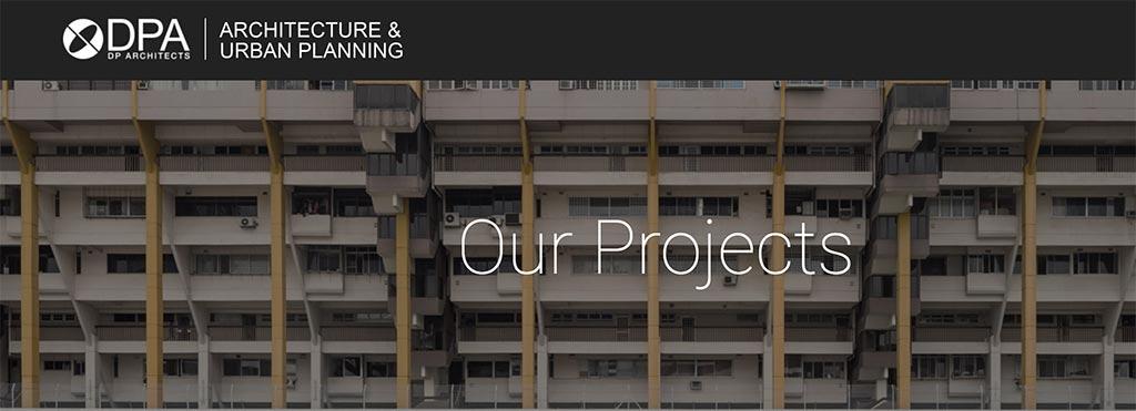 Các dự án của DP Architects
