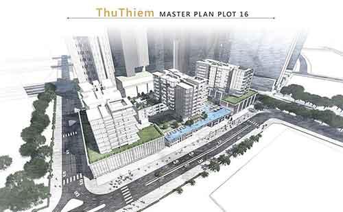 Hình phối cảnh dự án The Metropole Thủ Thiêm