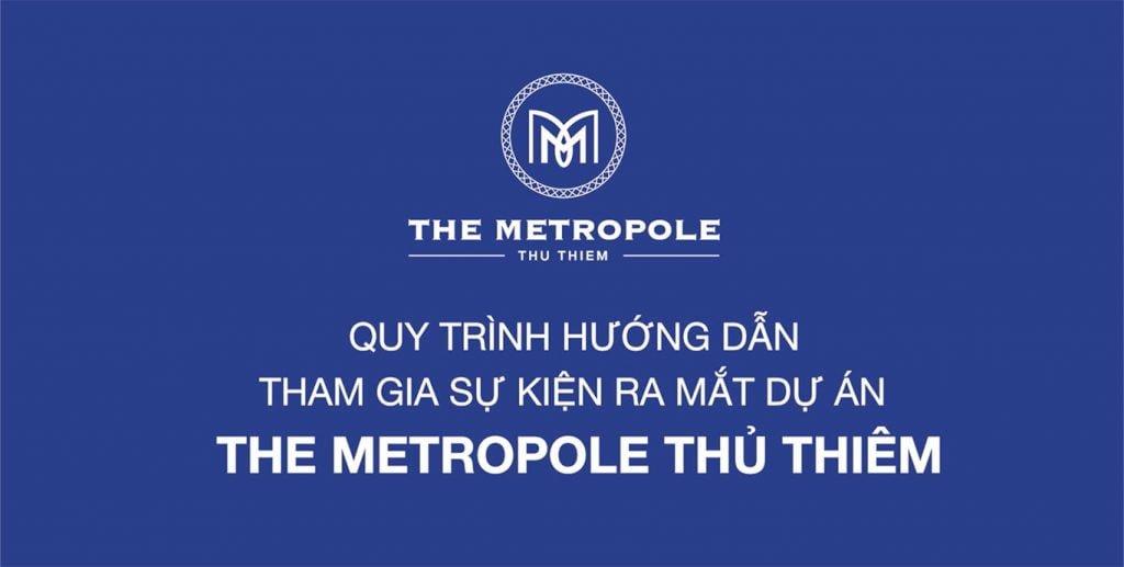 Quy trình trong ngày mở bán The Metropole Thủ Thiêm 14-12-2018