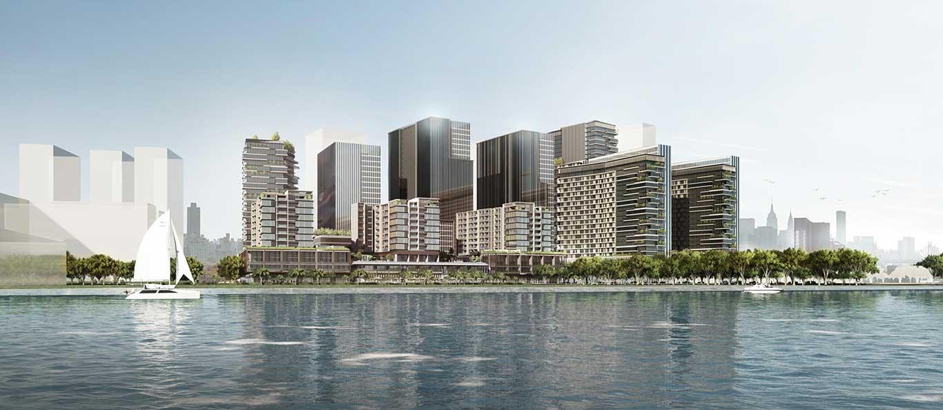 Hình ảnh mới nhất về dự án The Metropole Thủ Thiêm