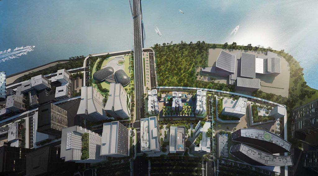 Hình phối cảnh dự án The Metropole Thủ Thiêm Quận 2