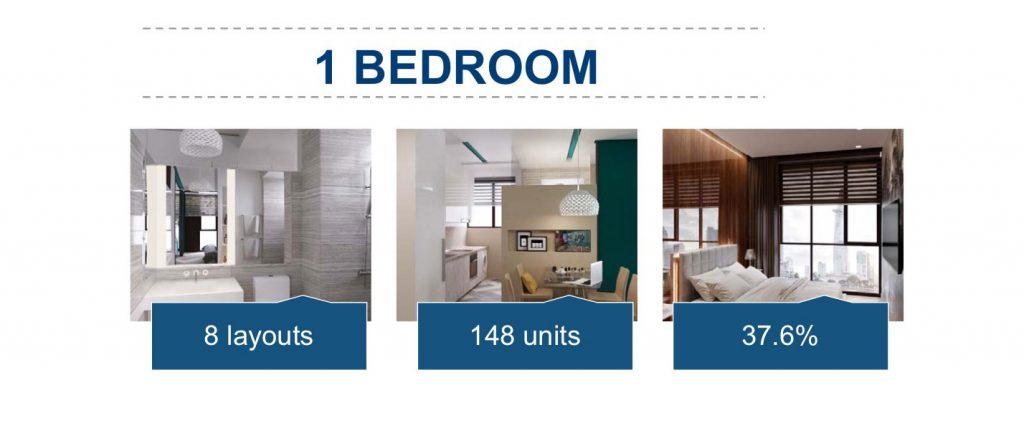 Bán căn hộ The Metropole Thủ Thiêm 1 phòng ngủ diện tích 50m2