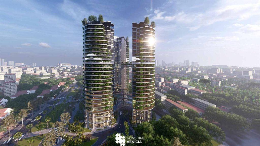 Phối cảnh dự án Sunshine Venicia 2020